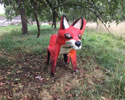 Orchard art - fox
