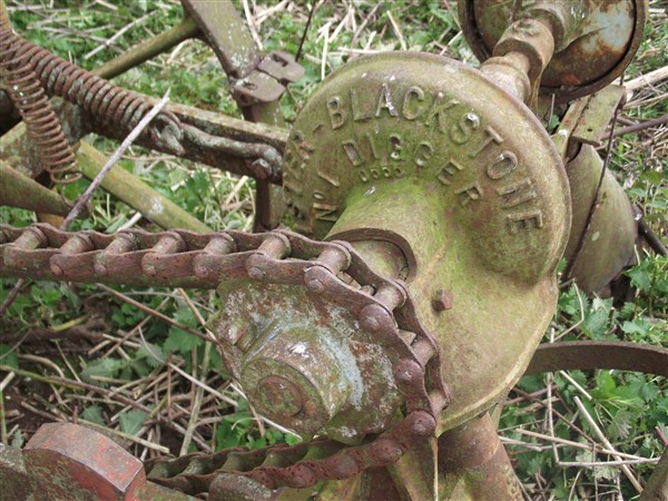 Uncovering old machinary